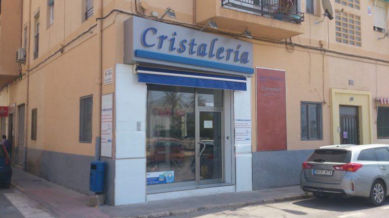 CRISTALERIA EN ALICANTE